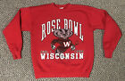 Vintage 1994 Wisconsin Badgers Football Rose Bowl Champions Sweatshirt Sz Large