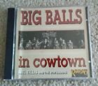 MEL TILLIS AND THE STATESIDERS BIG BALLS IN COWTOWN CD RADIO 1988 HARD TO FIND