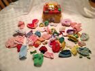 Lot Of Vintage Strawberry Shortcake Clothing and Accessories with Tin