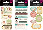 Sandylion Essentials Stickers MEMORIES ENCOURAGEMENT THE TIME IS NOW Family