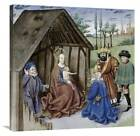 30 in Nativity With Three Kings Canvas Art ID 3960718