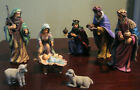 Holy Night Stewart Sherwood Nativity Scene Set 2001 8 Pc Figurines Holy Family