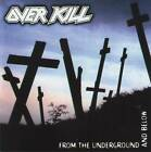 OVERKILL - FROM THE UNDERGROUND AND BELOW (+1 Bonus)(1997) CD Jewel Case+GIFT