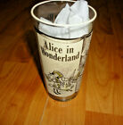Vtg Libbey 1965 Classic Collection Alice In Wonderland  Glass  Mint  5 1/2