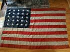 Antique US American Flag 25 Stars 69 x 45 estate find no reserve