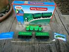 Thomas Train Wooden Railway Flying Scotsman New in Box 2003 with Collector Card