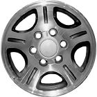 74143 Reconditioned 16X8 Alloy Wheel Rim Charcoal Painted with Machined Face