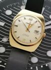 Mens 1960s Prätina by Dugena 17 Rubis Jewels Antichoc German Made Wind Up Watch