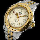 TAG HEUER GMT PROFESSIONAL 1500 JUMBO DIVER WR 200M SAPPHIRE SWISS UHR 155706