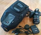 Canon EOS 7D Mark II 202MP DSLR Camera  EF 24 105 L IS USM lens bag 64G SD
