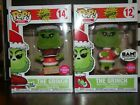 FUNKO POP THE GRINCH FLOCKED BOXLUNCH AND BOOKS-A-MILLION EXCLUSIVES SET