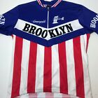 BROOKLYN GIORDANA CYCLING JERSEY SIZE XL RACING ITALY CAMPAGNOLO SHORT SLEEVE