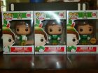 FUNKO POP ELF BUDDY ELF LOT OF 3 WITH EXCLUSIVE AND CHASE VARIANTS