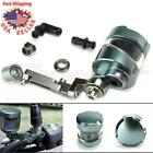 Motorcycle Front Brake Clutch Cylinder Fluid Reservoir Tank Cup Sport Bikes NEW