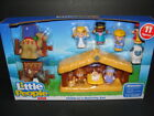 NEW LITTLE PEOPLE Nativity Set Baby Jesus Manger Kids Toy A Christmas Story NIB