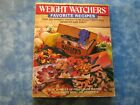 WEIGHT WATCHERS FAVORITE RECIPES WW Cookbook SC 1986 VGC