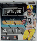 2019 Panini Playbook Football Sealed Hobby Box 4 Hits with 1 Booklet Murray