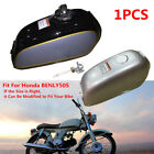 Motorcycle 6L Cafe Racer Bike Steel Fuel Gas Tank+Cap Switch For Honda BENLY50S