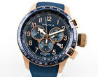 NAUTICA AUTHENTIC  STAINLESS BFC CHRONOGRAPH WATCH NAI28500G, NEW IN C