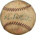 First and Last Babe Ruth Yankees Contracts Heading to Auction Block 15