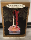 FREEDOM 7 JOURNEYS INTO SPACE ROCKET HALLMARK KEEPSAKE ORNAMENT 1996 VINTAGE