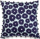NEW AMY BUTLER Dream Daisy 18 inch square Organic COTTON Flower Pillow NWT