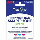 Tracfone Keep Your Own Phone 3 in 1 Prepaid SIM Kit
