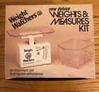 WEIGHT WATCHERS Weights  Measures Kit Food Scale 1984 Vintage New In Box