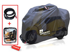 Motorcycle Cover For Moped Scooter Waterproof Outdoor Bike Storage With Bonus