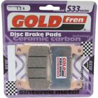 Front Disc Brake Pads for Honda CBR600F4 2004 599cc By GOLDfren