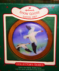 HALLMARK CHRISTMAS ORNAMENT 1987 SNOW GOOSE 6th in HOLIDAY WILDLIFE SERIES