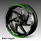 KAWASAKI VERSYS wheel decals tape stickers 650 1000 kawa ninja 17 rim stripes