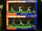 1998 Starting Lineup Freeze Frame Derek Jeter & Greg Maddux Set