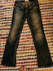 Big Star Distressed Vintage Collection Liv Boot Cut Low Rise Stretch Jean 25