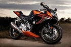 Orange w/ Gloss Black Fairing Injection for Suzuki GSX-R 600 GSXR750 2006-2007