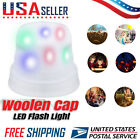 3 Modes LED Lighted Hat Winter Warm White Flashlight Camping Cap Party Light UP