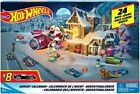 Hot Wheels Advent Calendar Christmas Car Toys Kids Boys Countdown Nativity New