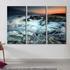 Ocean Tide Large Picture Print on Tempered Glass 59 X 39375 Wall Art