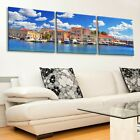 Venice Italy Harbor Large Wall Art Print on Tempered Glass 8275 X 2762