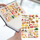 22Color Food Self adhesive Craft Scrapbook Stickers Diary DIY Decorative Gift