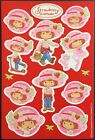 Vintage Stickers American Greetings Strawberry Shortcake Scented