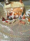 15 piece lighted nativity set mervyns