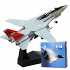 F14 1 100 Diecast Military Airplane Tomcat Alloy Fighter Aircraft Model Toy Gift