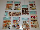 Jolee 84 Pieces Fall Scrapbooking Stickers Lot of 9 Packs Brand New