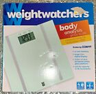 Weight Watchers Body Analysis Glass Scale bathroom