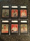 1934 Goudey Lot Of 18 Different, All SGC - Pwx86367*b