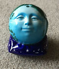 Clay Art Ceramic Mask Co Planet Earth and Stars Decorative Celestial Piggy Bank