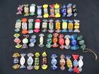 Vintage Murano Art Glass Colorful Decoration Candies 40 Pieces 2 1 4 2 1 2