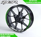 Kawasaki ZX9R Wheel Decals Rim Stickers ZX9 R ZX ZXR NINJA