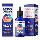 Lipodrops MAX New Weight Loss Drops 60 ml. Diet Drop Now with Concentrated Fa...